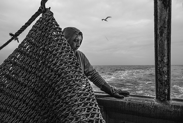 """Votez pour """"Des hommes à la mer"""" de Frédéric Briois aux Zooms 2015 du Salon de la Photo"""
