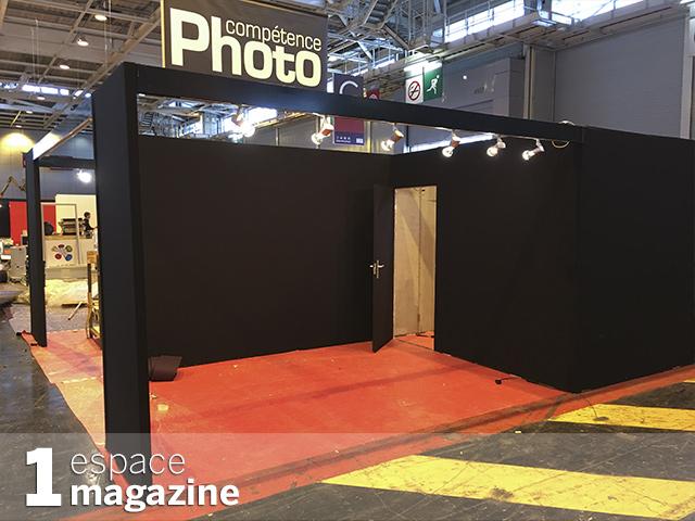Le stand de Compétence Photo au Salon de la Photo à J-2