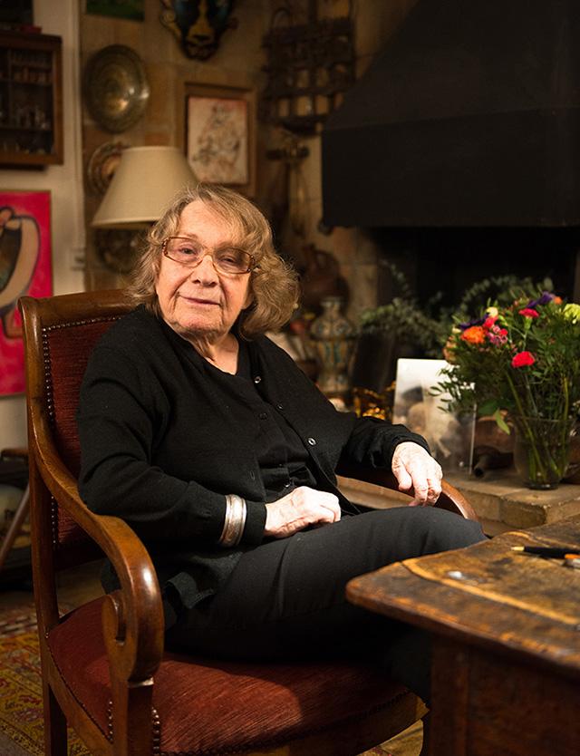Sabine Weiss, photographiée par Yoann Tessier