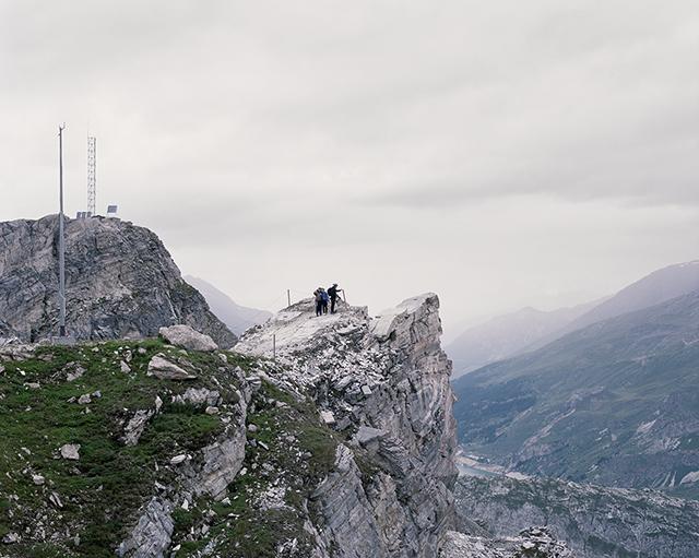Mathieu Farcy : « La visite de belvédères permet d'entrer en relation avec le sacré. » (festival Shoot ! à Chamonix)