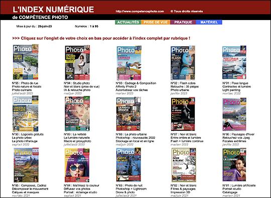 Retrouver un article grâce à l'index numérique