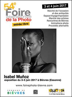 54e Foire internationale de la Photo de Bièvres, en partenariat avec Compétence Photo