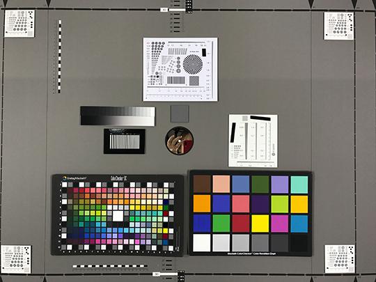 Photo-test réalisée en labo avec l'iPhone 7 Plus.