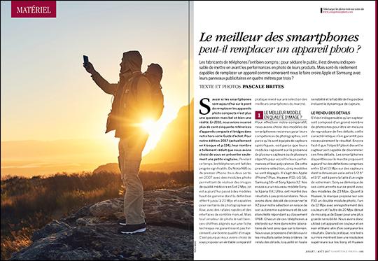 Les photos-tests réalisées avec le smartphone Samsung Galaxy S8