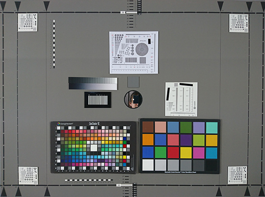 Photo-test réalisée en labo avec le XZ Xperia de Sony.