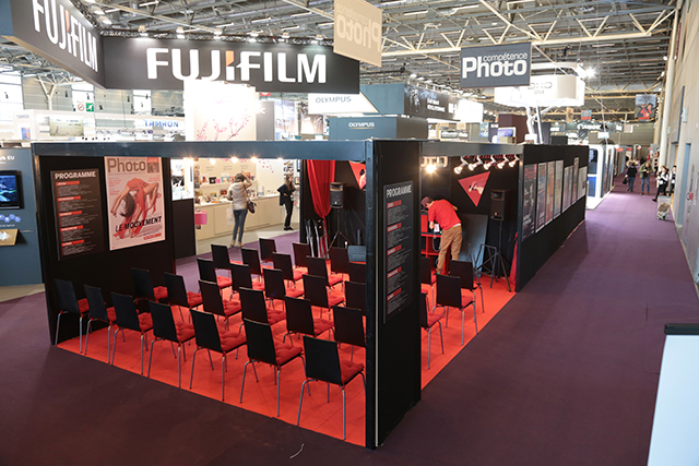 Stand de Compétence Photo au Salon de la Photo 2016