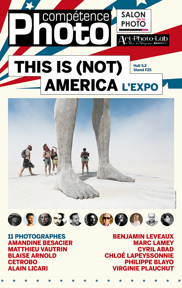 "L'exposition ""This is (not) America"" sur le stand de Compétence Photo"