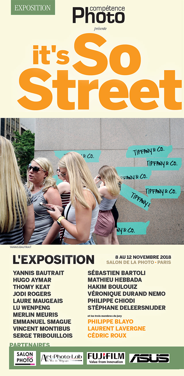 "L'exposition ""it's So Street"" sur le stand de Compétence Photo"
