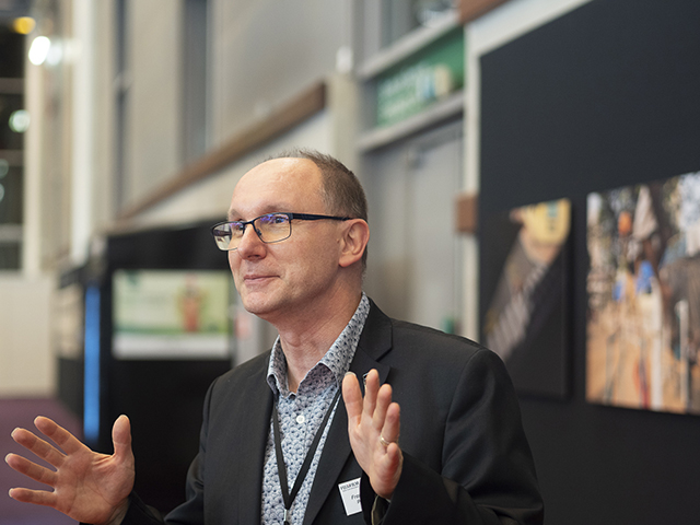 Franck Portelance, responsable des relations extérieures de Fujifilm