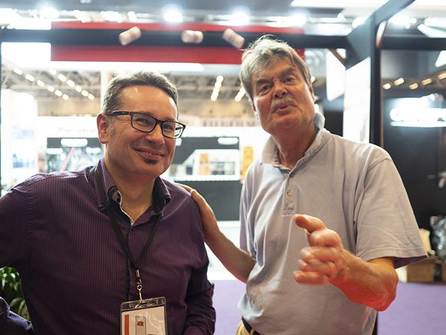 À droite : Mikkel Franck, le patron de l'ombre sans qui rien n'aurait été possible.