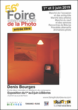 56e Foire internationale de la Photo de Bièvres, en partenariat avec Compétence Photo
