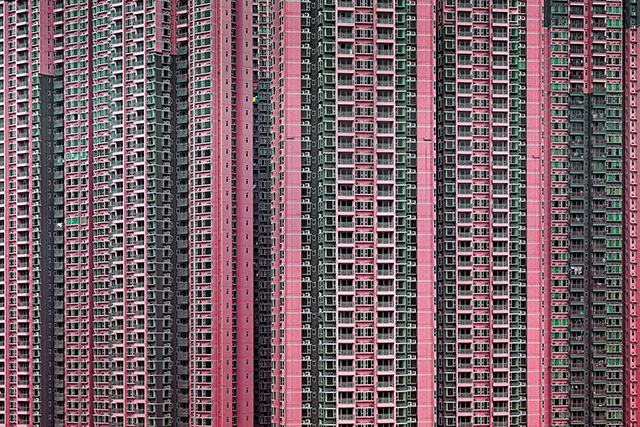 Architecture of Density © Michaël Wolf, courtesy La Galerie Particulière, Paris