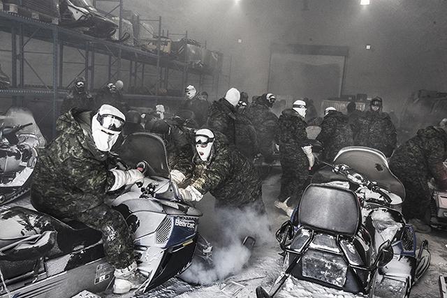 Le Festival Photo La Gacilly expose le grand froid venu de l'Est