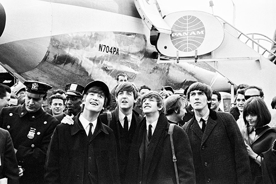 collection Speedbird - The Beatles - 7 février 1964 - JFK NYC