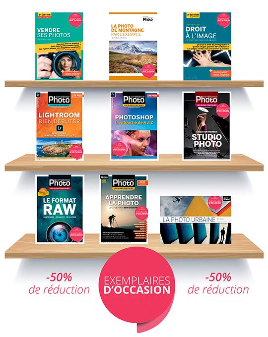 -50% sur les guides pratiques et hors-séries vendus d'occasion