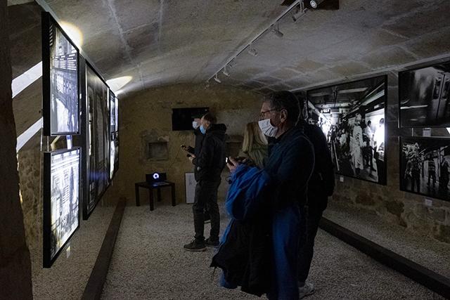 L'une des galeries de La Place (en mode visite à la torche)