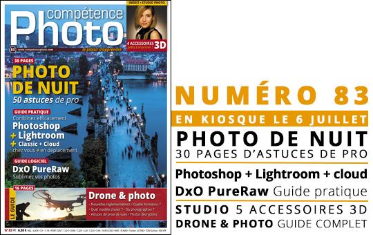 Compétence Photo Numéro 83, en kiosque le 6 juillet 2021