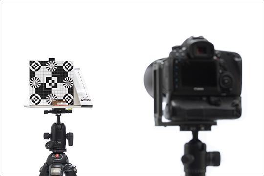 """Téléchargez le gabarit du bricolage """"Fabriquez une mire de calibrage autofocus"""" - Compétence Photo n°84"""