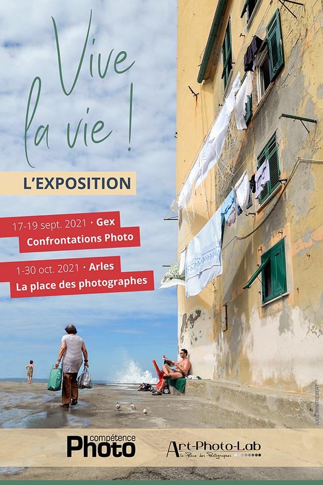 L'exposition Vive la vie ! présentée aux Confrontations Photo de Gex et à La Place des photographes à Arles