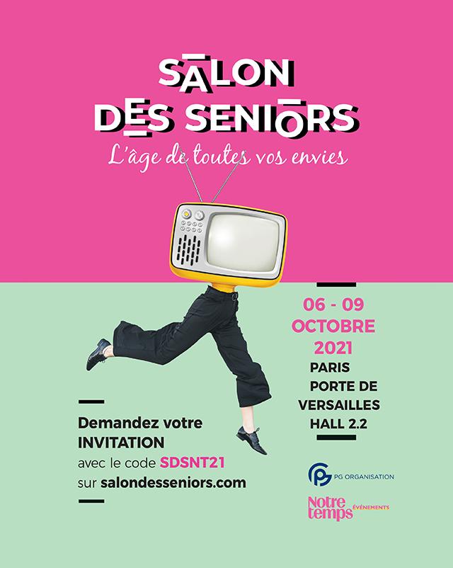 Retrouvez Compétence Photo au Salon des Seniors du 6 au 9 octobre 2021