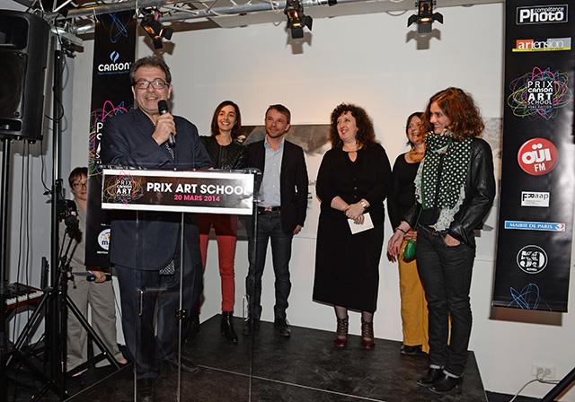 Hector Obalk, Président du jury et une partie des membres du jury 2014 © Pascal Baril - Planète Bleue Images