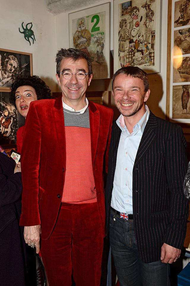 Yves Sabourin et Didier Gourvennec Ogor, membres du jury 2014 © Pascal Baril - Planète Bleue Images
