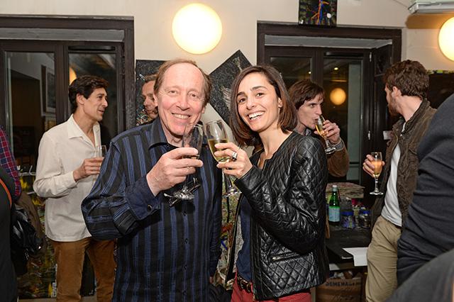 Boris Tissot et Ana Gonzalez Sola, membres du jury 2014 © Pascal Baril - Planète Bleue Images