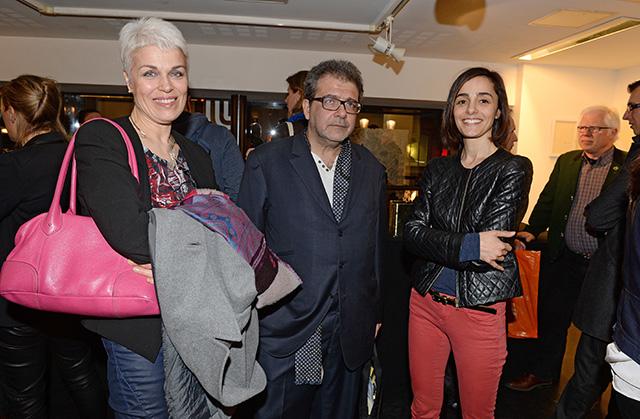 Laurence Teuma, de Canson, Hector Obalk et Ana Gonzalez Sola © Pascal Baril - Planète Bleue Images