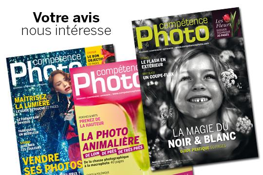 Que pensez-vous du magazine Compétence Photo ?