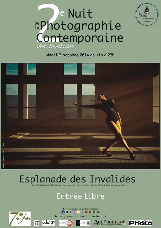 La 1e édition de La Correspondance Visuelle exposée à la Nuit de la Photo contemporaine (Paris)