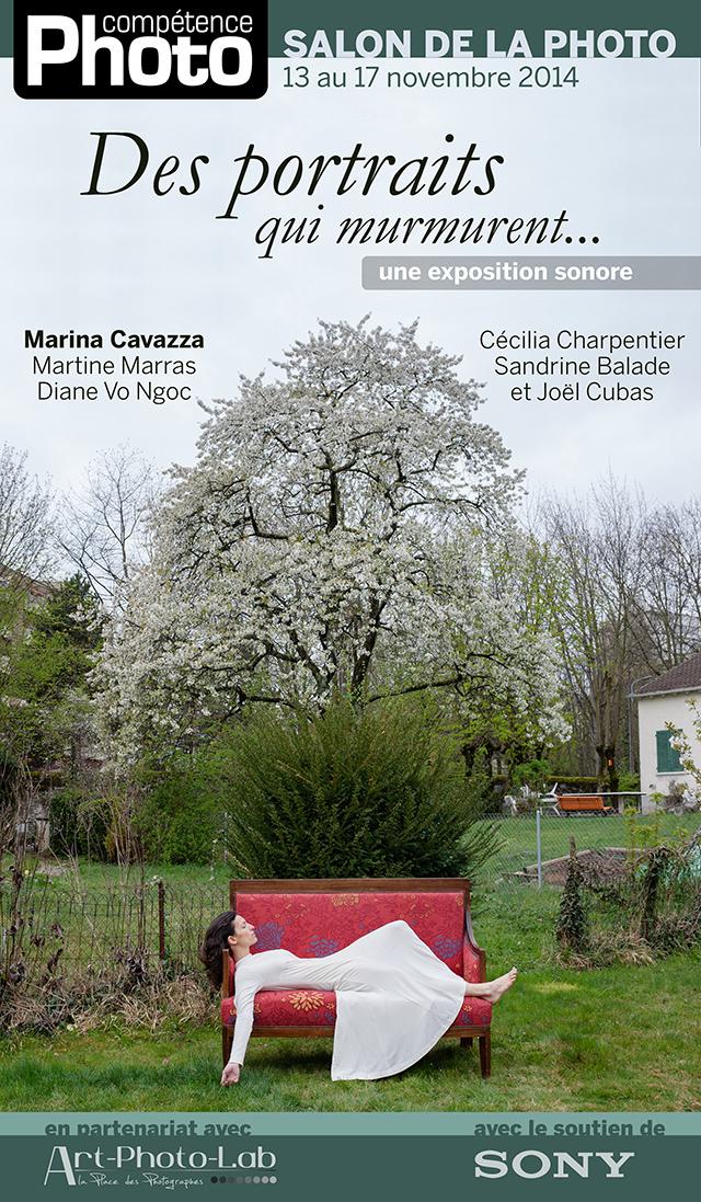 """La série """"Synecdoque"""" de Marina Cavazza exposée sur le stand de Compétence Photo"""