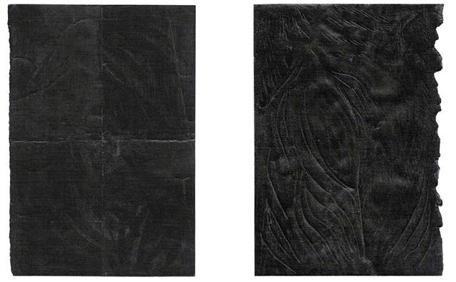 Stéphanie Daoud, encre de Chine sur papier, 2014, 20,5 x 14 cm chaque