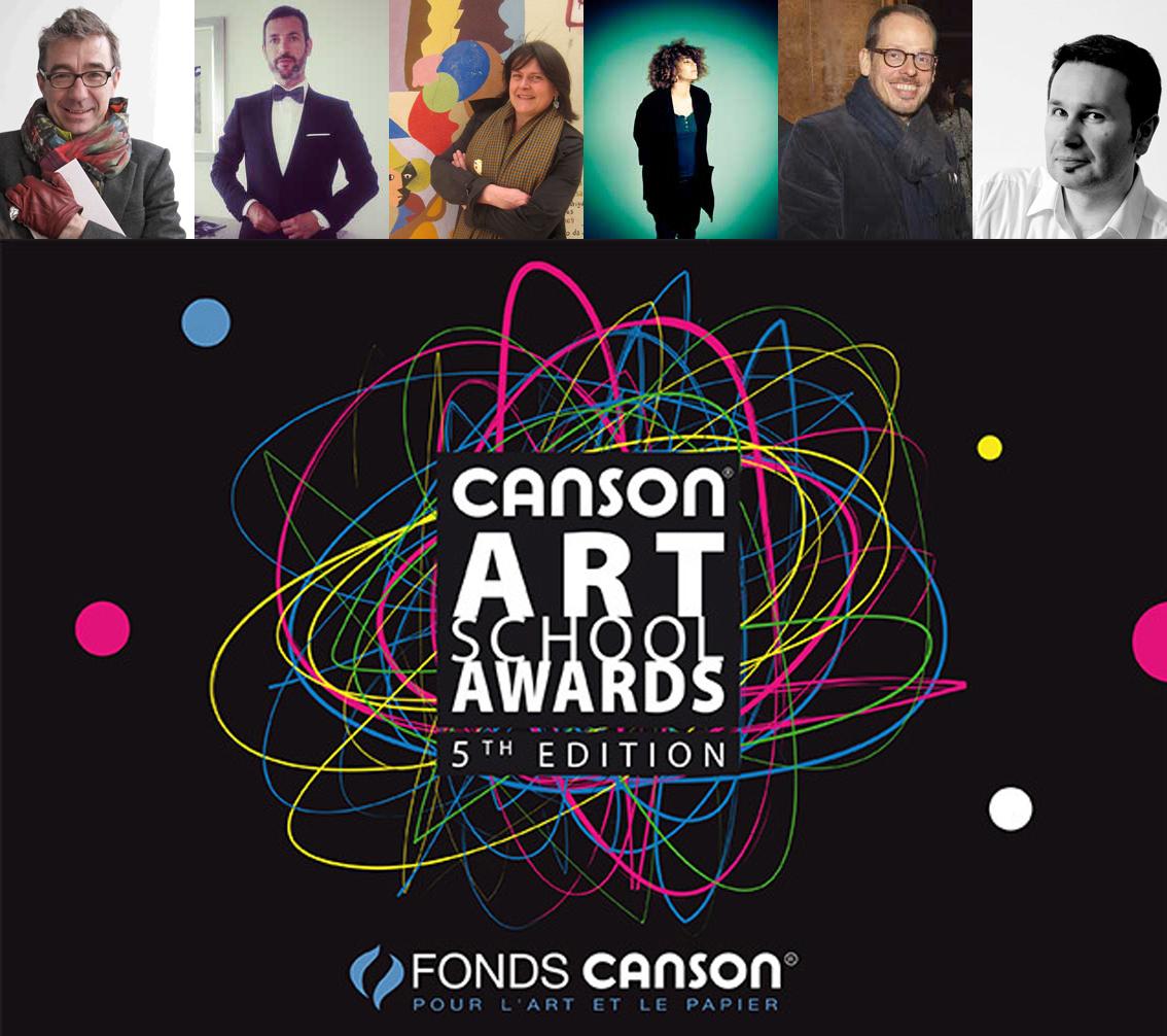 Le jury de la 6e édition des Canson Art School Awards dévoilé