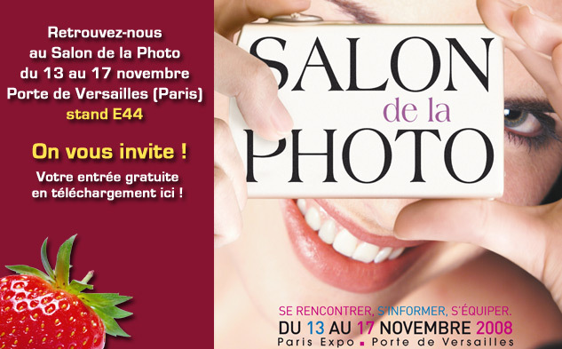Salon de la Photo 2008, on vous invite !