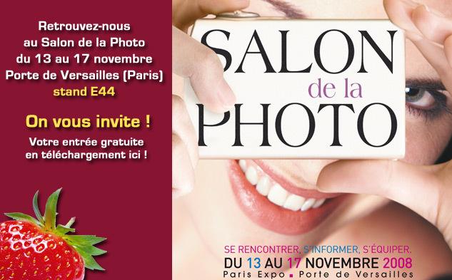 Salon de la Photo 2008, on vous invite !
