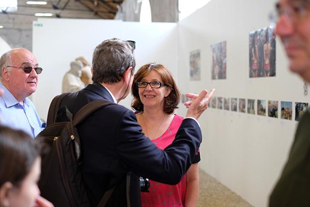Philippe Rochot et Odile Andrieu © Gérald Vidamment (Fujifilm X-Pro 2)