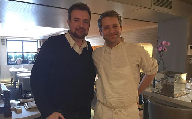 À gauche : Julien Dumas. À droite : Julien Dumas
