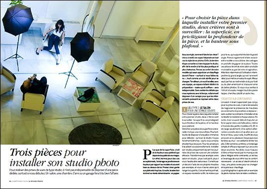 Créer son premier studio photo • Les guides pratiques Compétence Photo