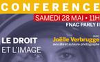 """Conférence """"Vendre ses photos"""" avec J. Verbrugge à la FNAC"""