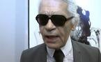 Karl Lagerfeld, invité d'honneur du Salon de la photo 2011