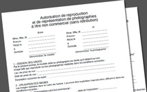 Autorisations de reproduction et de publication à télécharger