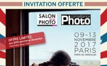 Compétence Photo vous offre votre invitation pour le Salon de la Photo 2017 (places limitées !)
