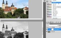 Le noir et blanc avec Photoshop CS5