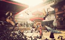 A walk in Kathmandu • Nicolas Rakotopare (série)