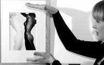 Nu noir et blanc de Heinz Hajek-Halke