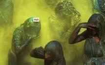 Xavier Zimbardo au sein de la grande fête hindoue, Holi