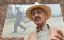 Rencontre avec Reza sur les quais de Toulouse