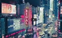 Times Square la nuit en timelapse