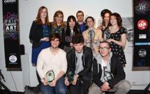 Les photos de la remise des prix du Prix Canson Art School 2014