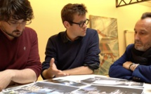 Dans les coulisses d'un editing photo par la rédaction de Soixante-Quinze avec le studio Hans Lucas